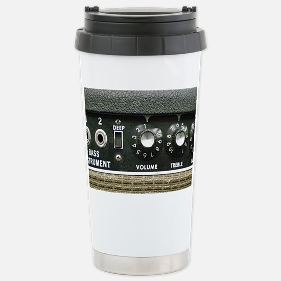 Amplifier Bass Instrume Stainless Steel Travel Mug