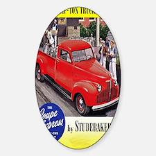 1946 studebaker truck ad Decal