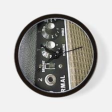 Amplifier Control Panel Wall Clock