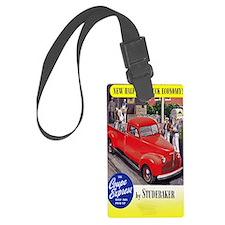 1946 studebaker truck ad Luggage Tag