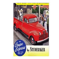 1946 studebaker truck ad Postcards (Package of 8)