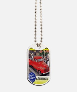 1946 studebaker truck ad Dog Tags