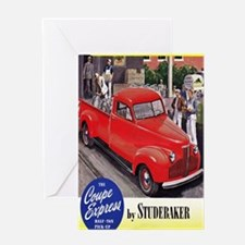 1946 studebaker truck ad Greeting Card