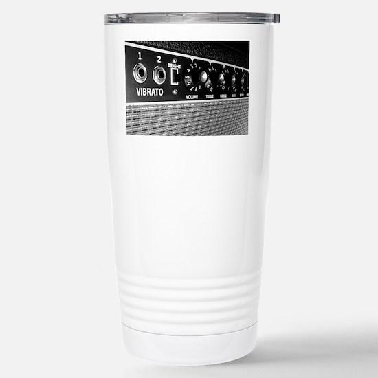 Vintage Amplifier Contr Stainless Steel Travel Mug