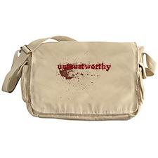 Untrustworthy Messenger Bag
