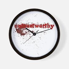 Untrustworthy Wall Clock