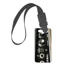 Amp Control Panel Luggage Tag
