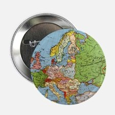 """Map of Europe 2.25"""" Button"""