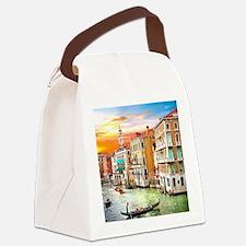 Venice Photo Canvas Lunch Bag