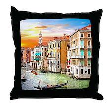 Venice Photo Throw Pillow