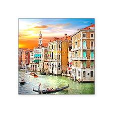 """Venice Photo Square Sticker 3"""" x 3"""""""