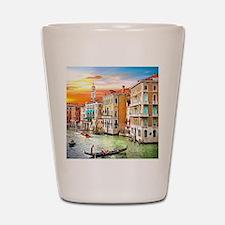 Venice Photo Shot Glass