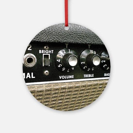 amplifier shirt Round Ornament
