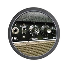 amplifier shirt Wall Clock