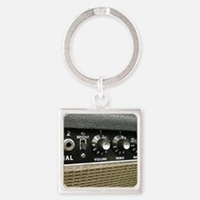 amplifier shirt Square Keychain