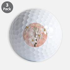 Lilies Golf Ball