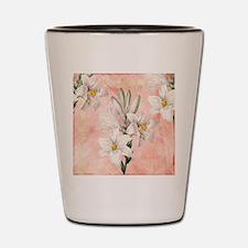 Lilies Shot Glass