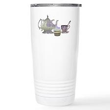 Lilac Teapot, teacup an Travel Mug