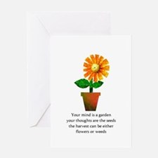 Spiritual Gardenin Greeting Cards