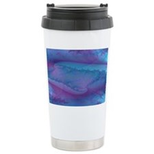 fancy blue and purple a Travel Mug