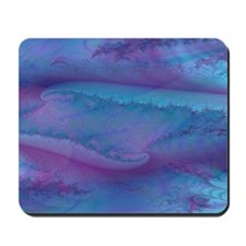 fancy blue and purple area rug Mousepad