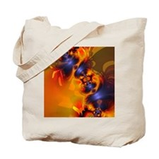 Orange Eyes Aglow Tote Bag