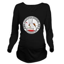 California Anaheim L Long Sleeve Maternity T-Shirt