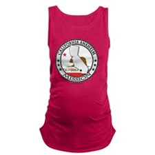 California Anaheim LDS Mission  Maternity Tank Top