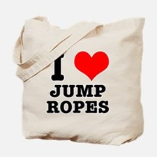 I Heart (Love) Jump Ropes Tote Bag