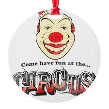 Circus Clown Ornament