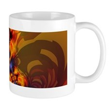 Orange Eyes Aglow Mug