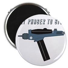 Set Phaser to Stun Magnet