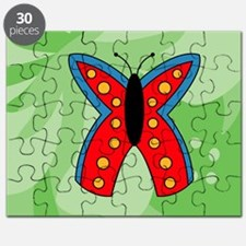 Butterfly Glass Cutting Board Small Puzzle