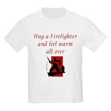 Hug A Firefighter T-Shirt