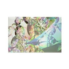 Wings of Angels Rectangle Magnet