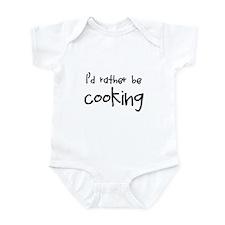 Cooking Infant Bodysuit