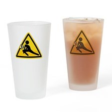 Call Before You Dig Drinking Glass