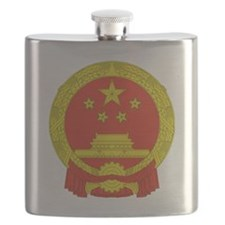 Emblem of the People's Republic of China Flask