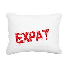 Unstable Expat Rectangular Canvas Pillow