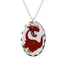 Cayenne the Dragon Necklace