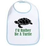 Rather Be A Turtle Bib