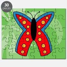 Butterfly Large Serving Tray Puzzle