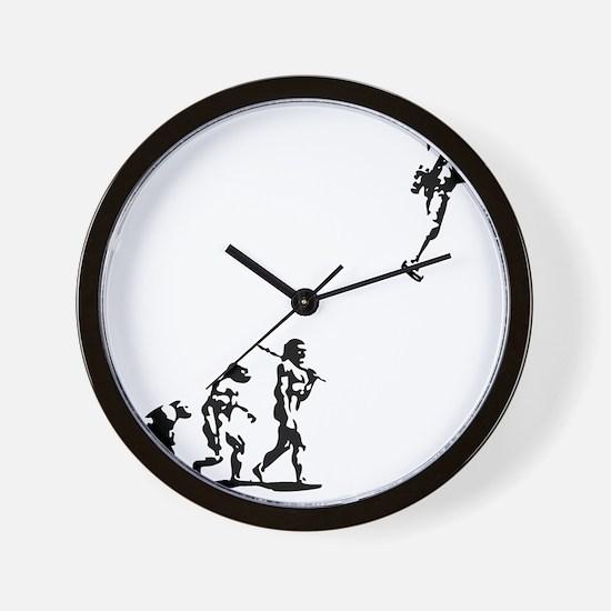 evolution-rocket-LTT Wall Clock