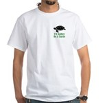 Rather Be A Turtle White T-Shirt