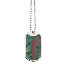 uiad Bamboo snap Dog Tags