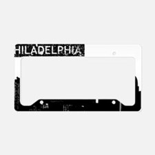 Philadelphia Skyline License Plate Holder