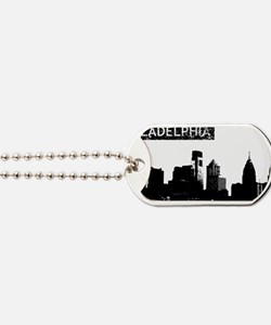 Philadelphia Skyline Dog Tags
