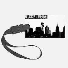 Philadelphia Skyline Luggage Tag