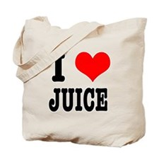I Heart (Love) Juice Tote Bag