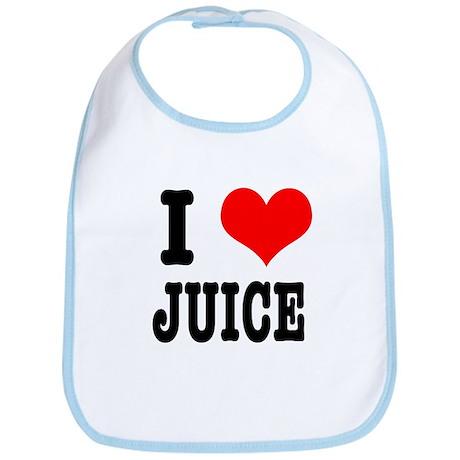 I Heart (Love) Juice Bib